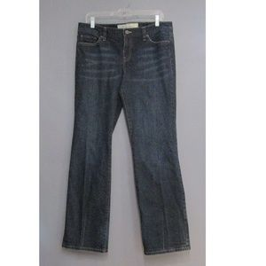 LOFT Slim Boot Dark Wash Jeans Size 10